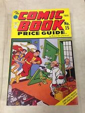 Official Overstreet Comic Book Price Guide #15 1985