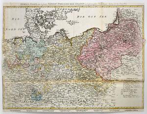 Walch: General Charte über die sämtlich Königlich Preussischen Staaten (1806).