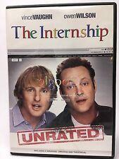 THE INTERNSHIP DVD (2013) Unrated & Theatrical versions Vince Vaughn Owen Wilson