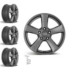 4x 17 Zoll Alufelgen für Opel Zafira Tourer / Dezent TX graphite (B-1300787)