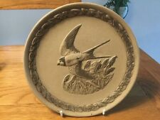 "Poole Pottery Stoneware British Garden Bird's ""The Swallow ""8"" Plate"
