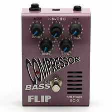 Guyatone BC-X FLIP TUBE POWER COMPRESSOR for BASS Bass Guitar Effect Pedal
