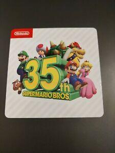 Super Mario 35 Anniversary Nintendo New York NY Exclusive Sticker  Bros 35th