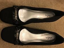 Abella 3532231Size 7 Black Heels Womens Shoes