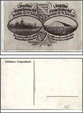 DRESDEN 1925 Jubiläums Festpostkarte Sängerbund Sächsisches Fest Musik Thema