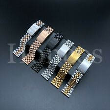 20MM Steel Bracelet Watch Band Strap Replacement Jubilee Vintage For Omega USA