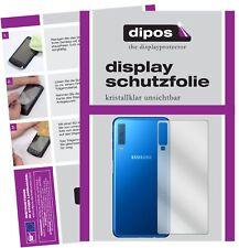 2x Samsung Galaxy A7 (2018) trasero protector de pantalla protectores
