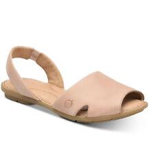 Born Woman's Kibbee Flat Sandals Blush