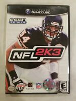 NFL 2K3 (Nintendo GameCube, 2002) COMPLETE TESTED FREE S/H FOOTBALL