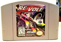 *GREAT* Re-Volt Nintendo 64 N64 Authentic Video Game Cart Retro Racing Super Fun
