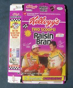 Terry Labonte--Gary DeHart--1997 Kellogg's Raisin Bran Cereal Box