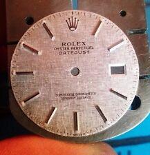 Genuine Rare Rolex DateJust Silver Reflective Dial