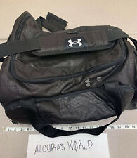 Under Armour Storm Black Duffle Bag Travel Sports Gym