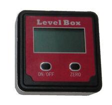 RDGTOOLS Digital Sensor de ángulo Caja cónica con precisión Set Caja de nivel de las herramientas de medición