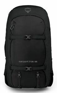 Osprey Farpoint Trek 55 Rucksack Wanderrucksack Tasche Black Schwarz