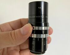 "Dallmeyer 3"" f3.5 Telephoto T.V. DC Fast Movie Cine C-mount Lens"