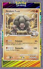 Grolem C4 - Platine 02: Rivaux Emergeants - 23/111-Carte Pokemon Neuve Française