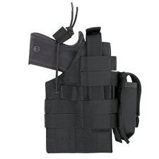 Condor GLOCK Ambidextrous MOLLE Pistol Handgun Holster w/Mag Pouch BLACK