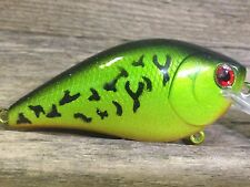 Xmarks Custom Painted Crankbait 2.5 RT Square Bill Fire Tiger