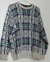 vintage AUTHENTIC ISSUE 90 grey medium sweater 1682s567