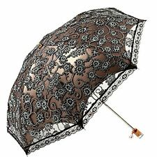 Lace Princess Parasol Sun/Rain/Snow Anti-UV Folding Wedding Bridal Umbrella New