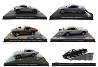 Set of 6 Aston Martin Model Cars James Bond 007 1:43 Eaglemoss Diecast LJB1