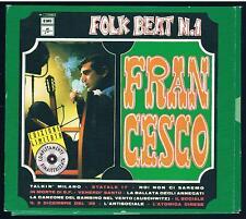 FRANCESCO GUCCINI FOLK BEAT N.1 CD ÉDITION LIMITÉE DIGIPACK F.C