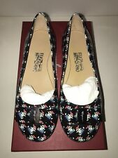 Salvatore Ferragamo Girl Shoes-Mini Varina Blue w/Penguins US Size 12.5; EUR 30