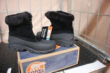 29-62 Womens Sorel size 5 zip black Snow Angel insulated to minus 25 boots