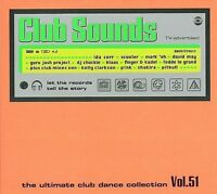 CLUB SOUNDS - Vol. 51 Neu 3 CD Magasonic Scooter Pitbull Shakira Rivendell Klaas