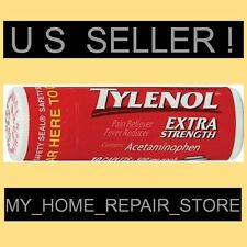 FREE S&H ! 1 POCKET SIZE TUBE OF 10 TYLENOL EXTRA STRENGTH ACETAMINOPHEN CAPLETS
