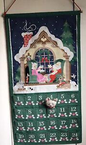 Vintage Avon 1987 Countdown to Christmas Advent Calendar with ORIGINAL MOUSE!