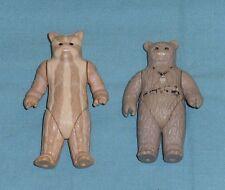 vintage STAR WARS FIGURE LOT #43 ewok figures LOGRAY & CHIEF CHIRPA