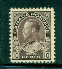CANADA 116 SG210 MH 1912 10c plum KGV Admiral Cat$275