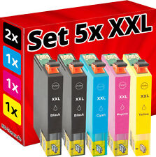 5x XL TINTE PATRONEN für Epson XP245 XP342 XP442 XP235 XP332 XP335 XP432 XP435
