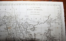 1780 A Map of the East Indies From the Best Authorities by J BEW Original China