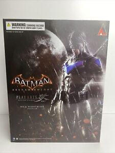No.6 NIGHTWING Square Enix Batman Arkham Knight Play Arts Kai Figure NEW