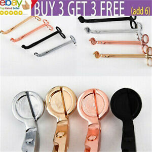 Candle Wick Trimmer Stainless Steel Trim Scissors Cutter Snuffers Party Tool aa