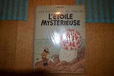 Tintin l'étoile mystérieuse B1 Dos Bleu !