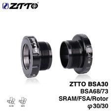 ZTTO MTB Road Bike Bearing Bottom Bracket f/ SRAM Rotor Bike Raceface BSA30 BB68