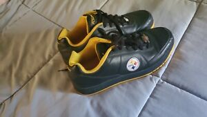 Hardly worn Steelers Reebok Shoes,  very nice condition