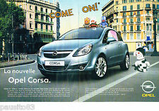 PUBLICITE ADVERTISING 085  2006  OPEL CORSA  disel  CDTI ( 2 pages)
