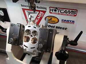 CRF450R Cylinder Head Rebuild with Stainless Valve & Spring Kit + guide seals
