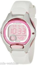 Casio LW200-7AV Ladies White Digital Sports Watch 10 YEAR BATTERY Stopwatch New