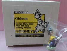Olszewski 1990 Goebel Disney Pinocchio's GIDEON Miniature Figurine