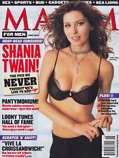 Maxim Magazine June 2003 Shania Twain Trista Rehn Courtney Orick Rachel Nichols
