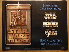 THE STAR WARS TRILOGY (1997) - original UK quad film/movie poster, sci-fi, space