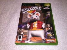 Sneakers (Microsoft Xbox, 2002) Original Release Complete Excellent!