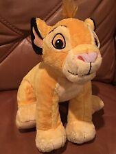 "Simba plush Disney Just Play The Lion King Stuffed Animal Toy 15"""