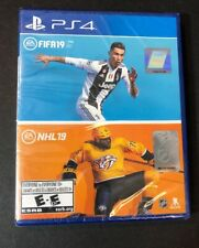 FIFA 19 & NHL 19 Bundle Pack (PS4) NEW
